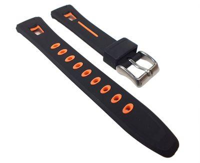Calypso Uhrenarmband Kunststoff schwarz/orange für K5506/2 K5506 – Bild 1