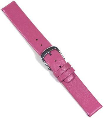 Uhrarmband Leder 14mm | Kinderband extra kurz pink 22053S