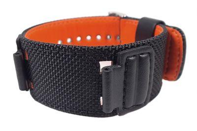 Casio Ersatzband 16mm Textil schwarz G-303 AW-591MS DW-5600B GW-M5610 – Bild 1