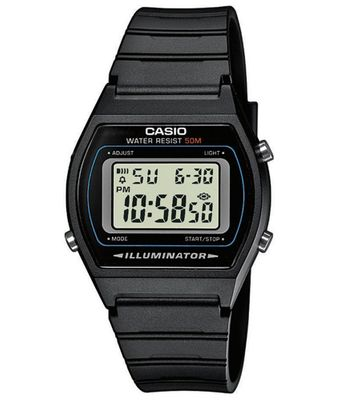 Digitaluhr Multifunktionsalarm schwarz Casio W-202-1AVEF