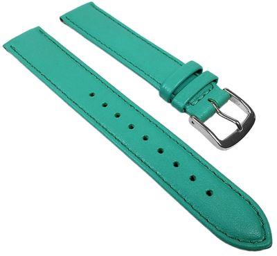 Miami Ersatzband Uhrenarmband Kalbnappa Band Türkis 22562S – Bild 1