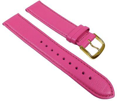 Uhrenarmband Leder Kalbnappa weich Pink Graf Miami 22594G – Bild 1