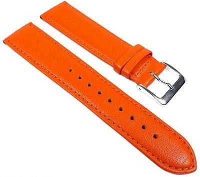 Uhrenarmband Kalbnappa weich Orange Graf Miami 22597S – Bild 1
