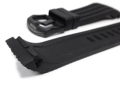 TW STEEL Ersatzband Kautschuk schwarz 24mm 22620B – Bild 2