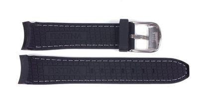 Festina Ersatzband Uhrenarmband Kautschuk schwarz 20mm für F16394/2 F16492 F16394 – Bild 2