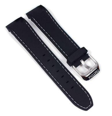 Festina Ersatzband Uhrenarmband Kautschuk schwarz 20mm für F16394/2 F16492 F16394 – Bild 1