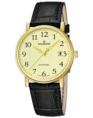 CANDINO Swiss Watch hochwertige Klassik Herren Armbanduhr C4489/1