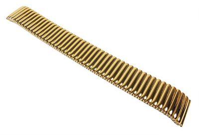Flex Uhrenarmband Edelstahl Gelbgoldfarben Minott 22852G – Bild 1