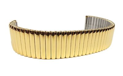 Flex Uhrenarmband Edelstahl Gelbgoldfarben Minott 22852G – Bild 2
