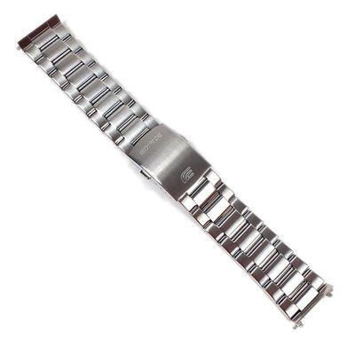 Casio Edifice Ersatzband Uhrenarmband Edelstahl Band 24mm für EF-333D EF-333 – Bild 1