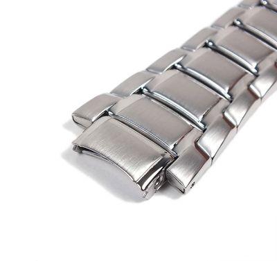 Casio Edifice Ersatzband Uhrenarmband Edelstahl Band 16mm für EF-335D EF-335 – Bild 3