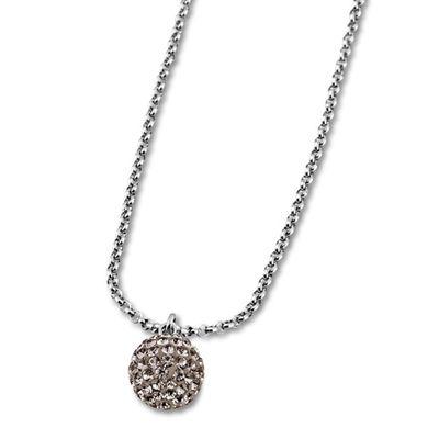 Lotus Style Damenschmuck Halsschmuck Collier Kette mit Zirkonia LS1405-1/3 – Bild 1