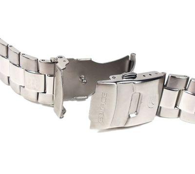 Casio Edifice Ersatzband Uhrenarmband Edelstahl Band 22mm für EMA-100 – Bild 2