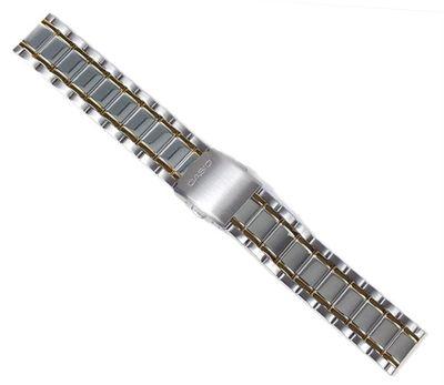 Casio Collection Ersatzband Uhrenarmband Edelstahl Band für MTP-1235 – Bild 1