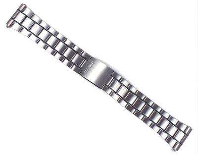 Casio Collection Ersatzband Uhrenarmband Edelstahl Band für MTP-1337 MTP-1337D – Bild 1