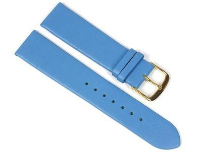 Berlin Ersatzband Uhrenarmband Kalbsleder Band Blau 23241G – Bild 1