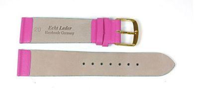 Berlin Ersatzband Uhrenarmband Kalbsleder Band Pink 23260G – Bild 2