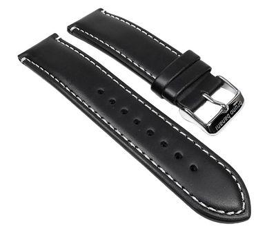 Bruno Banani Uhrenarmband Leder schwarz Herrenuhr Alos BR22055 BR22056