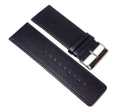 Uhrenarmband Kalbsleder schwarz Extra-Breit Herzog Beach 23330S – Bild 1