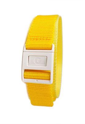 Casio Baby G Ersatzband Uhrenarmband Textil Klettband Durchzugsband 20mm Gelb BGF-100 – Bild 1