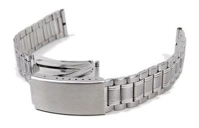 Stalux Ersatzband Uhrenarmband Edelstahl Band 18mm - 20mm – Bild 1