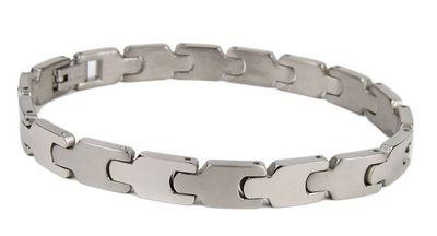 Minott Titan Damen Armband | Gliederarmband aus Titan 21cm 23426 – Bild 1