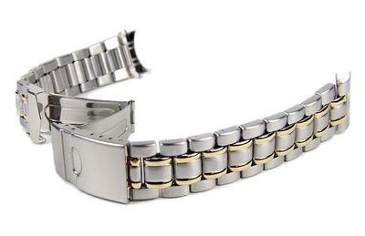 Stalux  Uhrenarmband 6 x Wechselanstoß Bicolor 18mm, 20mm, 22mm