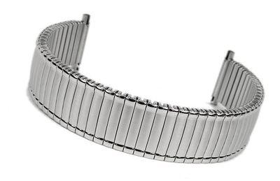 Flexband Zugband Ersatzband Edelstahl Band 18mm 19mm 20mm 23638S – Bild 1