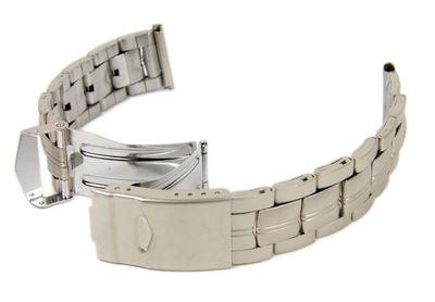 Stalux Ersatzband Uhrenarmband Edelstahl Band 18mm - 20mm 23640S – Bild 1