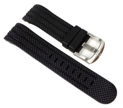 TW STEEL Ersatzband schwarz 24mm für Uhren mit 48mm Gehäuse TW-73 – Bild 1