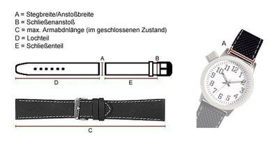 Hugo Boss Ersatzband Uhrenarmband Silikon Band schwarz 22mm für 1512664 – Bild 2