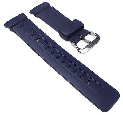 Casio Ersatzband Uhrenarmband Resin Band Dunkelblau für G-7500 G-7510 – Bild 1