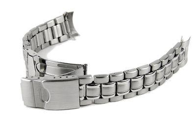 Stalux Ersatzband Uhrenarmband 6 x Wechselantoß Edelstahl 18mm, 20mm, 22mm 23944S