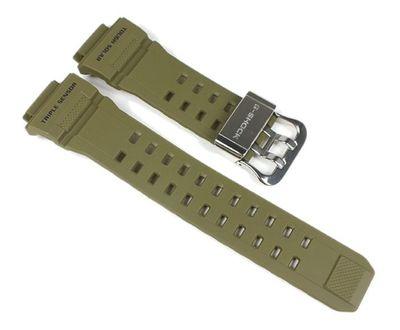 Casio G-Shock Ersatzband Uhrenarmband Resin Band Olivgrün für GW-9400 – Bild 1