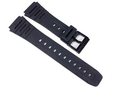 Uhrenarmband Kunststoff schwarz weich 20mm Minott 24084 – Bild 1