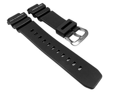 Casio Ersatzband Uhrenarmband 20mm | Resin Band Schwarz G-9100 AW-571