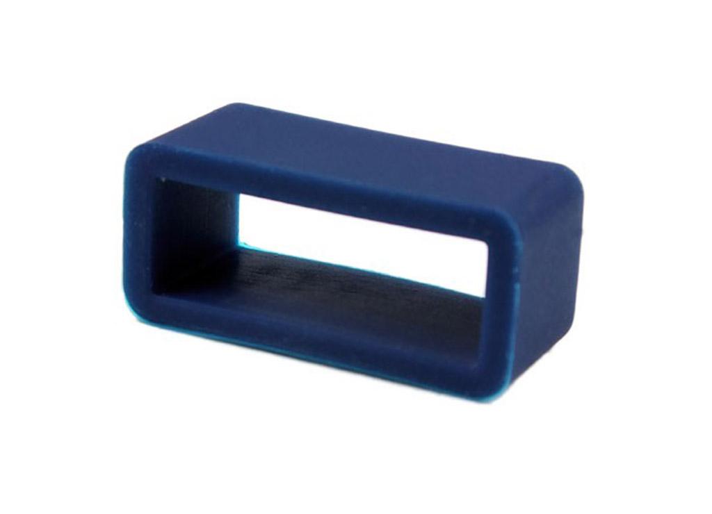 minott schlaufe aus silikon f r uhrenarmb nder mit 18mm. Black Bedroom Furniture Sets. Home Design Ideas