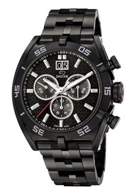 JAGUAR SWISS MADE Herrenuhr Armbanduhr Edelstahl Saphirglas Chrono Limited Edition 0736/1300 J656/2