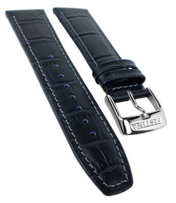 Festina | Uhrenarmband Leder 23mm mit Krokoprägung Naht für F16486 – Bild 4