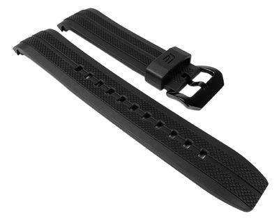 Casio Ersatzband Uhrenarmband Resin Band schwarz für EFR-534PB EFR-534-RBP EFR-102 EFR-102PB – Bild 1
