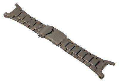 Casio Ersatzband Uhrenarmband Titan Band Titangrau für PRG-240 PRG-240T – Bild 1