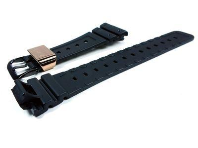 G-Shock 30th Anniversary Uhrenarmband | für DW-5030C Resin schwarz Casio – Bild 2