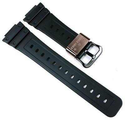 G-Shock 30th Anniversary Uhrenarmband | für DW-5030C Resin schwarz Casio