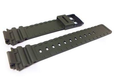 Casio Ersatzband Uhrenarmband 18mm Resin Band Olivgrün MRW-S300H-3BV MRW-S300 – Bild 2