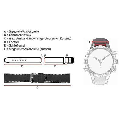 Casio Ersatzband Uhrenarmband 18mm Resin Band Olivgrün MRW-S300H-3BV MRW-S300 – Bild 3