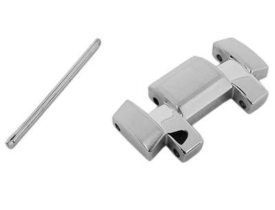 Casio Ersatzglied Bandglied Edelstahl Silberfarben für EF-539D EF-539