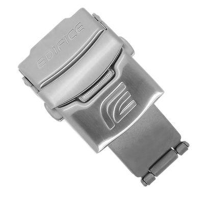 Casio Faltschließe 20mm | Schließe Edelstahl Edifice EFA-121 EF-550 – Bild 1