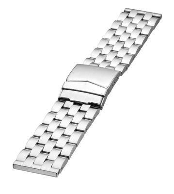 Minott Uhrenarmband | Edelstahl massiv | mattiert | Faltschließe 24631 – Bild 1