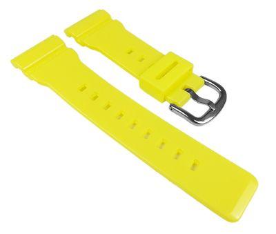 Casio Baby-G Ersatzband Uhrenarmband Resin Band Gelb für BA-110 BA-111