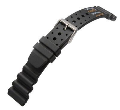Minott Taucherband Ersatzband Diver Wasserfest 20mm schwarz passend für Citizen AJ9230-08EE NY0040-09EE